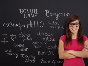 Learning foreign languages